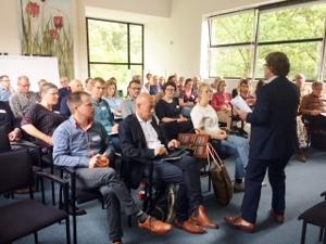 Zoektocht in Zwolle Successen en vragen delen bij start netwerk Stadslandbouw Nederland: 'Voer voor meer'
